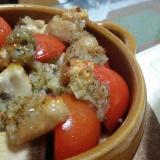 鶏肉トマトのグリル
