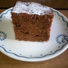 オレンジ風味のチョコケーキ