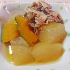 冬瓜とかぼちゃの煮物