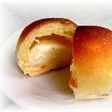 オレンジ風味のチーズクリームパン