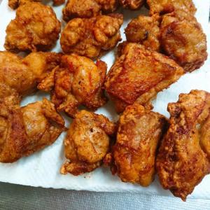 しっかり味の鶏唐揚げ