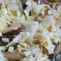 椎茸と白菜のさっと炒め