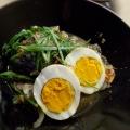 缶詰めで簡単☆鯖と卵のこっくり煮