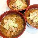 すき焼きのタレは万能調味料☆大根と椎茸のそぽろ餡