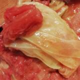 炊飯器 薄切り肉で簡単 ロールキャベツ