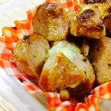 【ガサツ料理】楽ウマ魚肉ソーセージの辛子マヨ焼き