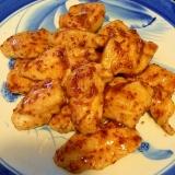 鶏胸肉を柔らかく(13)☆ハニーマスタード焼き