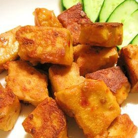 高野豆腐の唐揚げ