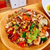粒マスタードで★ゴロゴロ野菜のサラダ