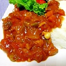 夏野菜たっぷり♪トマトカレー