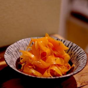 にんじん 浅漬けサラダ