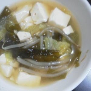 ぱぱっとおかず★中華スープ