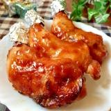 クリスマスに★骨つき鶏もも肉のマーマレード焼き