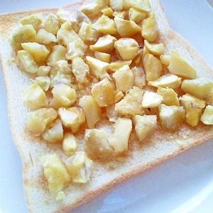 秋の味覚♪メイプルマロントースト