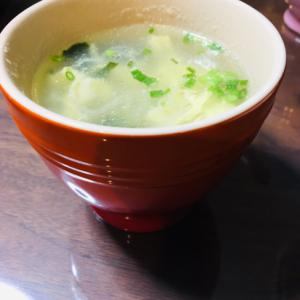 簡単☆わかめと卵のスープ