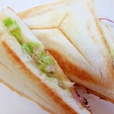今日のランチ*ツナ野菜サンドイッチ