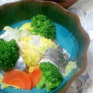 サワラと白菜の蒸し煮