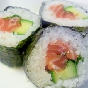 コストコ★サーモンの巻き寿司