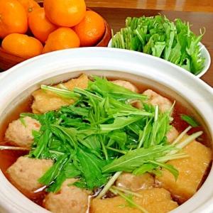 はりはり鍋です☆たっぷり水菜を楽しむ簡単楽々お鍋♪