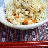 めんつゆで♪舞茸とジャコの炊き込みご飯