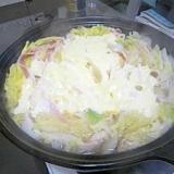 白菜と豚肉ベーコン鍋