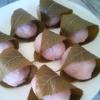 道明寺粉で作る桜餅★50個