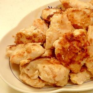 下味冷凍保存可能★鶏むね肉の鰹節焼き