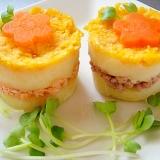 ワンコ用 ミニミニちらし寿司ケーキ