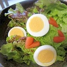卵レタスハートサラダ