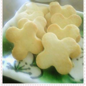 バター不要 レモン風味 マヨネーズで作るクッキー