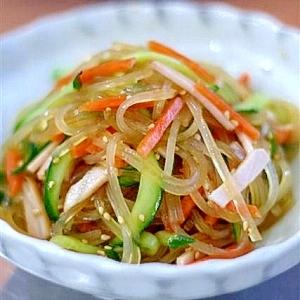鍋ひとつで春雨の中華風サラダ
