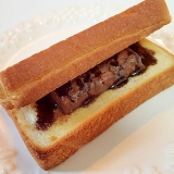 ブラックサンダーで チョコ・サンド・トースト♬