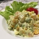 アボカドと海老のタルタルサラダ
