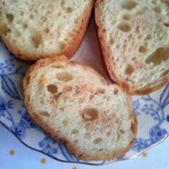 練乳&シナモンシュガー☆フランスパン