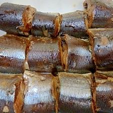 目からうろこの「つぼ抜き(ワタヌキ)・サンマの佃煮