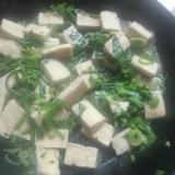 高野とワラビの煮物