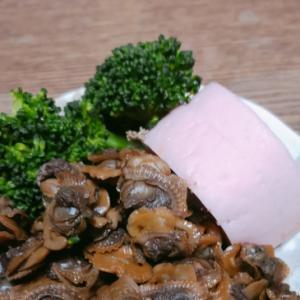平成最後のおせち  藻貝(もがい)の佃煮