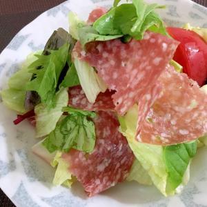 サラミのサラダ☆美味しいおつまみサラダ