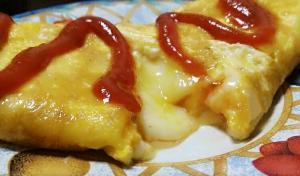 ☆簡単☆5分で☆ふわとろチーズオムレツ