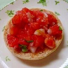 トマトのブルケスッタ