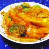 野菜たっぷり♪イタリアン皿うどん