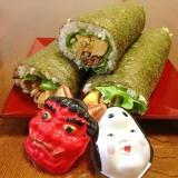 牛カルビとナムル☆巻き寿司