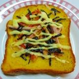 ☆のりとかにかまのマヨ醤油トースト☆