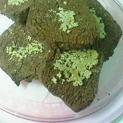 ブラウンシュガーとシナモンのココアクッキー