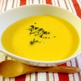 リメイク☆かぼちゃの煮物で濃厚パンプキンスープ