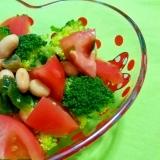 トマトとブロッコリーのサラダ☆リンゴ酢ドレッシング