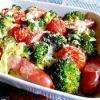焼きブロッコリーとトマトのチーズグリル