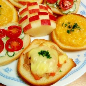 ツナ&チーズ♡オープンサンド