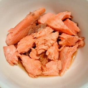 焼き鮭の醤油漬け
