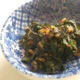 ふきの葉の佃煮